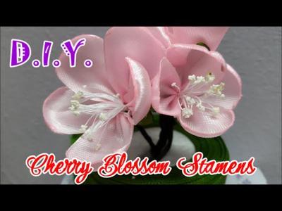 D.I.Y. Cherry Blossom Stamen - Tutorial