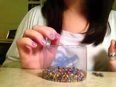 DIY Craft: Safety Pin.Bead Bracelet (ASMR.Whisper)