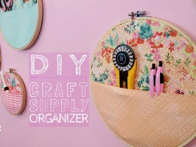 DIY Craft Supply Organizer | with Jennifer Bosworth of Shabby Fabrics