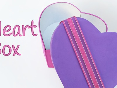 DIY crafts: HEART BOX -  Innova Crafts