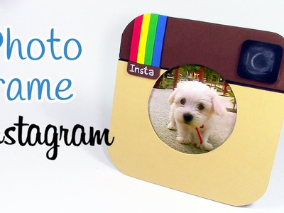 DIY crafts: PHOTO FRAME Instagram - Innova Crafts