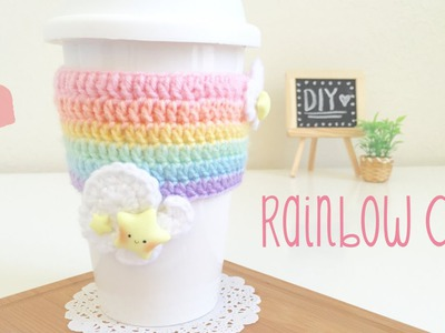DIY Crochet Rainbow Cozy with Kawaii Stars & GIVEAWAY WINNERS!