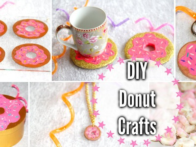 DIY Donut Crafts! Room Decor, Keychain, Snack + More