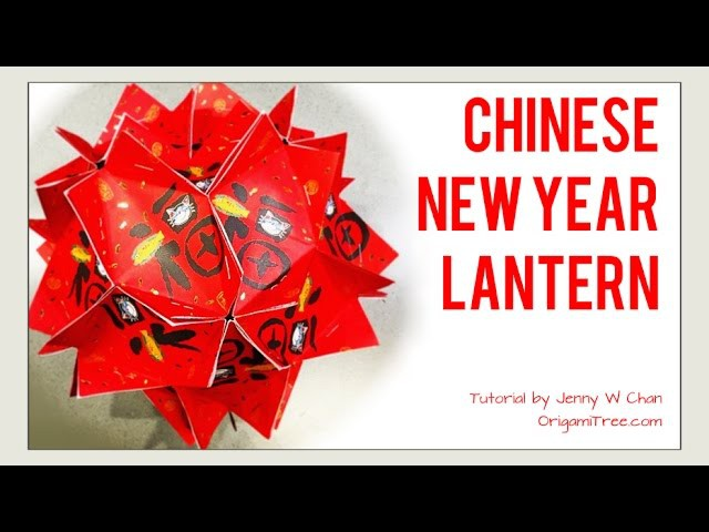 DIY 紅包燈籠 How to Make.Fold Chinese New Year Lantern.Ball.Decoration Crafts with Red Envelopes.Ang Pau