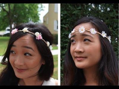 DIY: Flower Child Headband Tutorial
