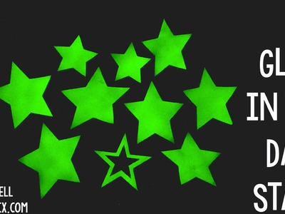 DIY Glow In The Dark Stars | Sizzix Kid Craft
