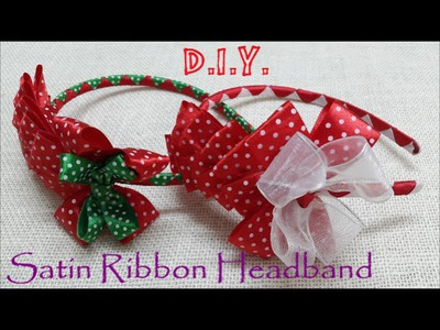 ❆ ☃ ❆ D.I.Y. Holiday Season Headband Tutorial ❆ ☃ ❆