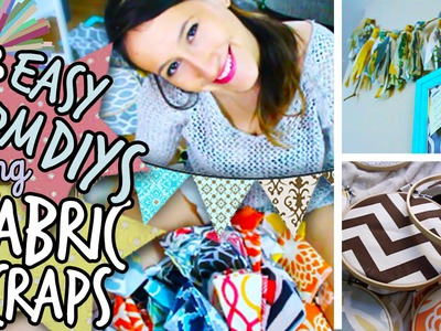 DIY Room Decor: Scrap Fabric Projects (ACTUALLY Easy and Affordable)! | itsLyndsayRae