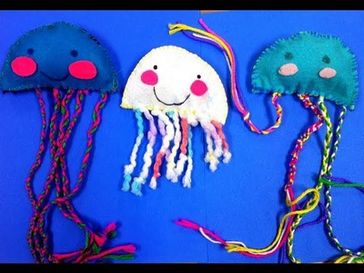 DIY Sew a Cute Kawaii Jellyfish GREAT KIDS CRAFT