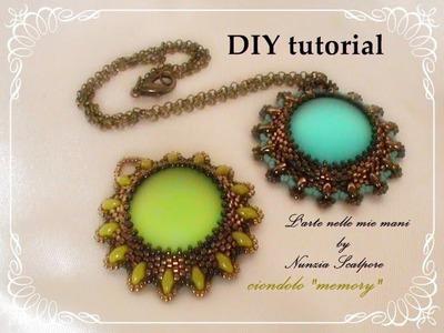 """DIY tutorial: ciondolo """"Memory"""""""