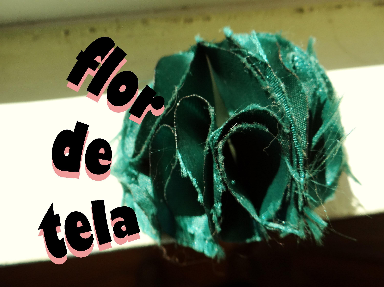 DIY: Tutorial Flor de Tela