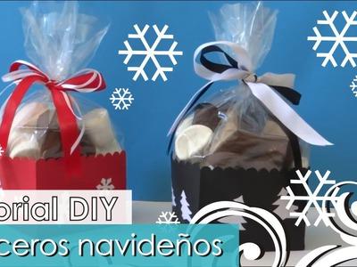 DIY - Tutorial Navideño - Dulceros originales y divertidos!