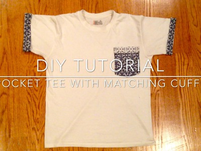 DIY Tutorial || Pocket Tees and Matching Sleeves