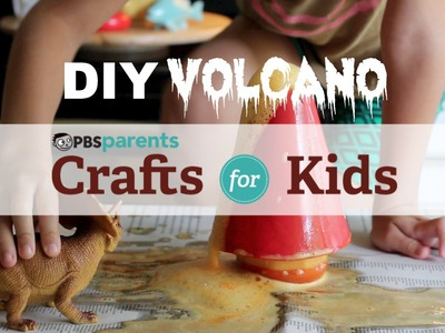 DIY Volcano | Science Crafts for Kids | PBS Parents