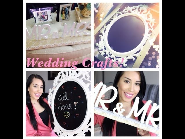 DIY Wedding Projects ♥ Mr&Mrs Sign ♥ Chalkboard Sign ♥