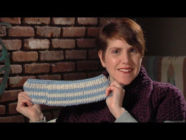 Double Knitting (reversible color knitting) - lk2g-068