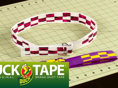 Duct Tape Crafts and DIY Accessories: How to Make a Duck Tape Belt