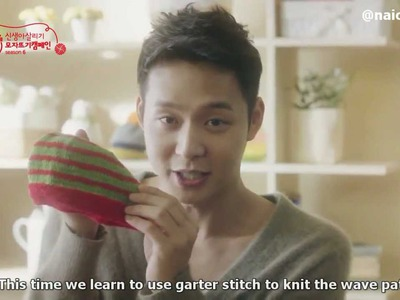[Eng sub] Yuchun teaches you how to knit full ver ユチョン 유천