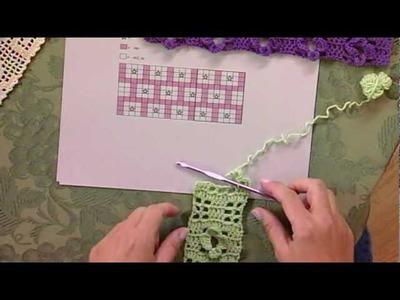 Filet Crochet, from Knitting Daily TV Episode 810