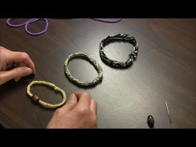 Finger Knit Friendship Bracelet - How-to Instructions