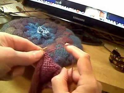 Flicking to Improve English Knitting