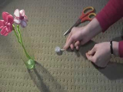 Flowers: Art and Craft for kids: How to make Flower with paper