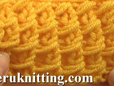 Free Knitting Stitch Pattern Tutorial 3 Easy to Knit Stitch Paterns