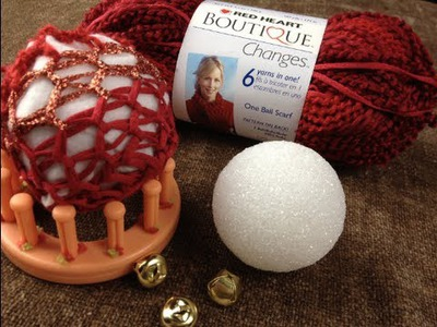 Gifts: How to Loom Knit Ornaments or a Decorative Ball