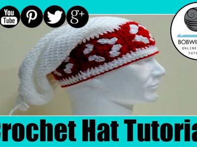 Granny Edge Slouch Hat Crochet Tutorial