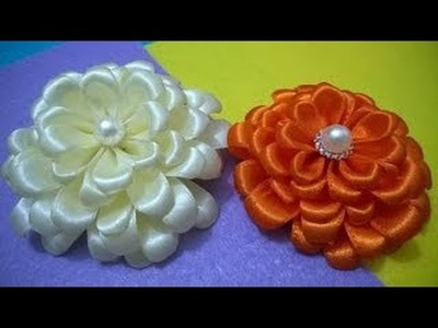 Hand Craft Flowers Work Design with Thermocol Flowers Tutorial