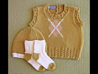 How To-Baby Sweater  Knitting