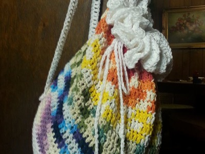 HOW TO: Crochet a Backpack TUTORIAL Crochet Bag tutorial. DIY Crochet tutorial.