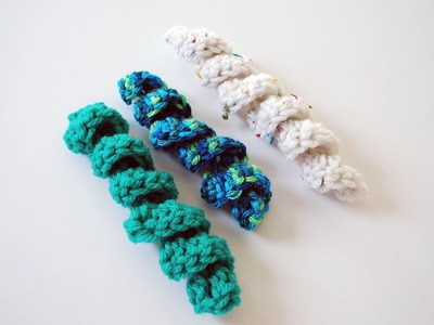 How to Crochet a Curly Cue: Beginner Friendly Tutorial