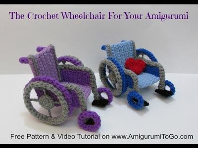 How To Crochet A Wheelchair