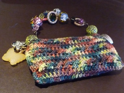 How To Crochet Blackberry or iPhone Purse