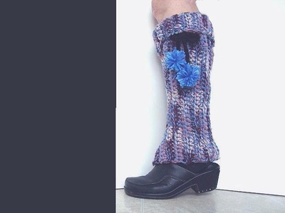 HOW TO CROCHET LEG WARMERS.