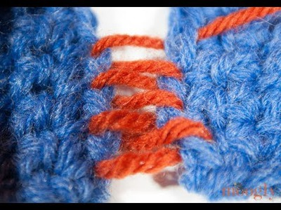 How to Crochet: Mattress Stitch Seaming
