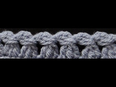 How to Crochet the Edge. Border Stitch P #8 by ThePatterfamily