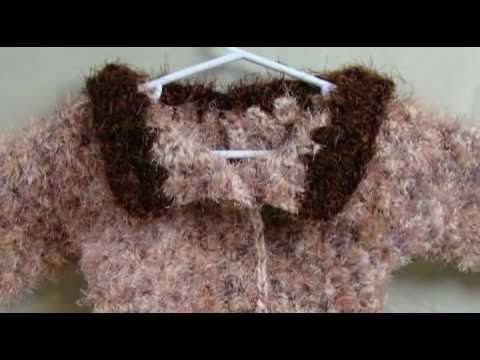 How To Crochet Toddler Sweater 2 of 4