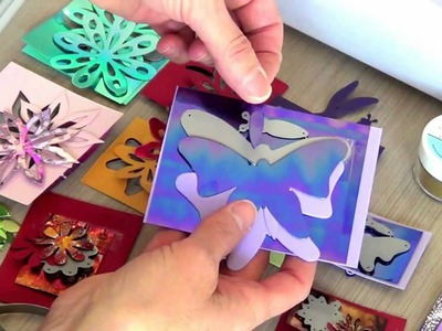 How to cut Shimmer Sheetz using the Elizabeth Craft Designs Dies