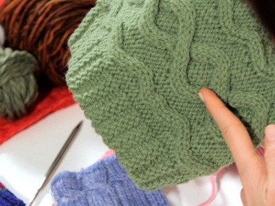How to Do a Cable Stitch | Knitting
