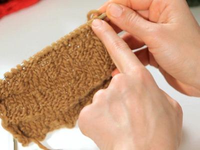 How to Do a Zig-Zag Stitch aka Chevron Stitch | Knitting