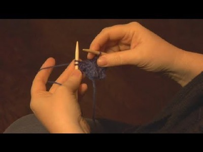 How to End a Knit & Pull Scarf : Knitting a Scarf