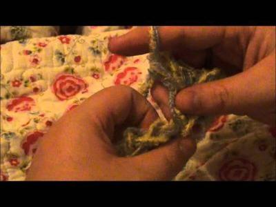How to Finger Crochet Tutorial