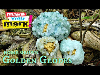 How to: Golden Geodes