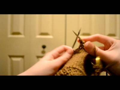 How to Knit a Lateral Braid (Vikkel Braid)
