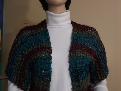 How To Knit A Shrug, Bolero.
