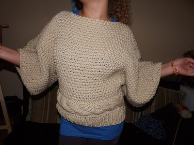 How to Knit a Sweater or Aran Part 1 of 2