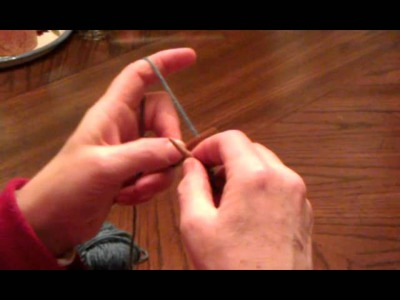 How to knit continental (European) style