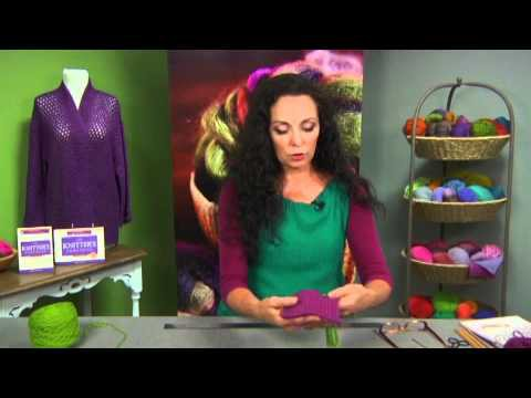 How to Knit: Create Fringe on Your Knitting with Vicki Square